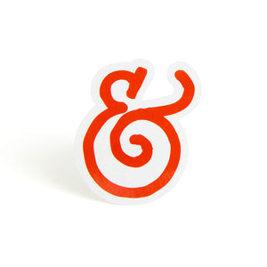Salt & Straw Ampersand Sticker