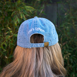 Salt & Straw Dad Hat Washed Denim