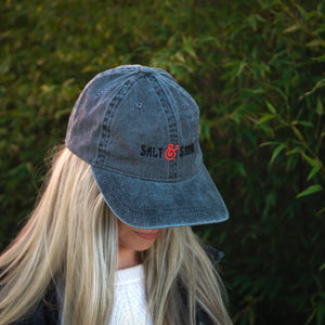 Salt & Straw Dad Hat Charcoal