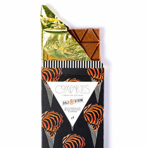 Compartés x Salt & Straw Love Nut Pecans & Coffee Chocolate Bar