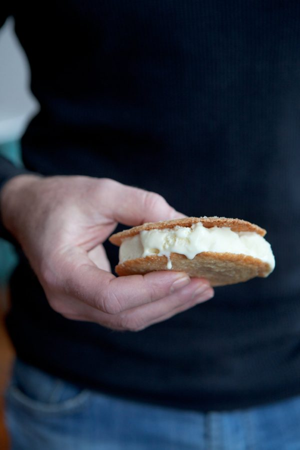 Lemon Cardamom Bittered Ice Cream Sandwiches - (c) Clare Barboza