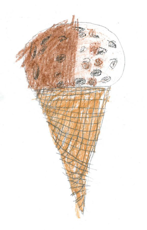 Salt & Straw's Saturday breakfast flavor by Sophia