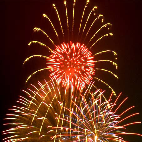 Fireworks For Victoria Day all across Canada