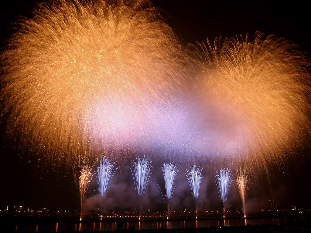 Cannes International Firework Festival 2015