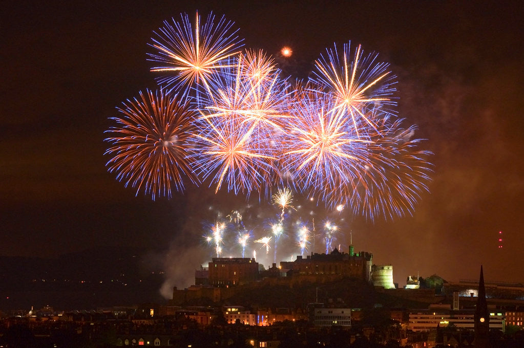 Edinburgh Festival Fireworks Display