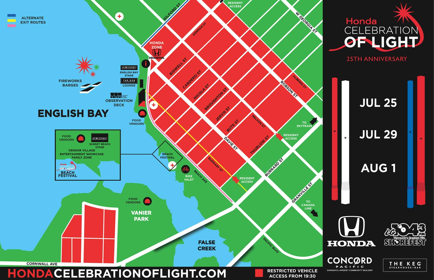 Honda Celebration of Light 2015