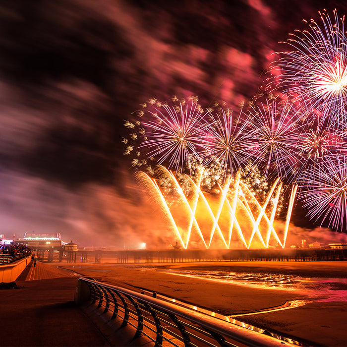 BLACKPOOL FIREWORKS CHAMPIONSHIPS 2014