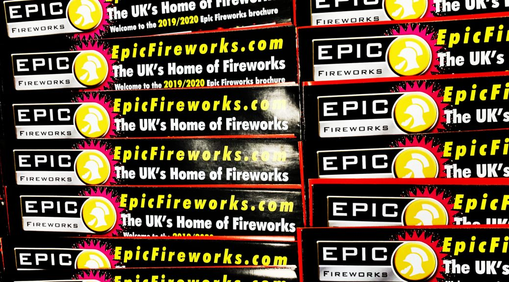 EPIC FIREWORKS 'THE BROCHURE 2019-20'