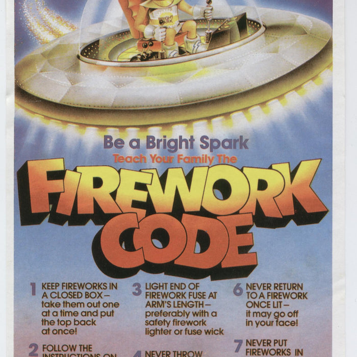 The Firework Code & Safety - UK