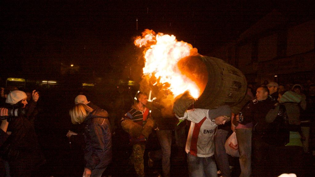 OTTERY ST MARY TAR BARRELS EVENT 2019