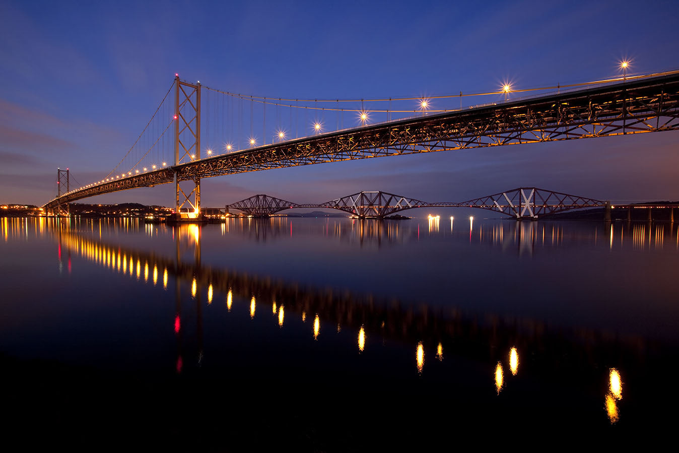 HALF CENTURY OF THE FORTH ROAD BRIDGE IN STYLE