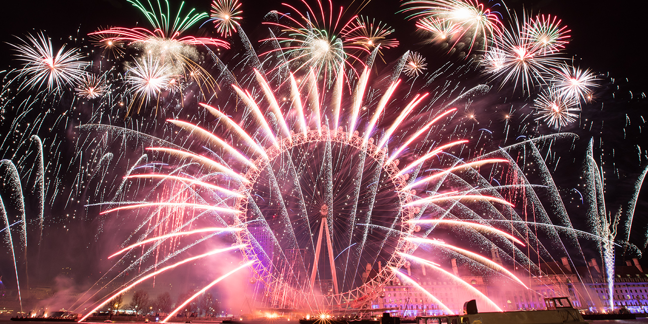 LONDON FIREWORKS 2018 – NEW YEAR'S EVE FIREWORKS