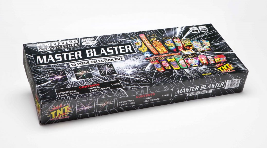 EPIC VS ASDA SUPERMARKET - MASTER BLASTER SELECTION BOX