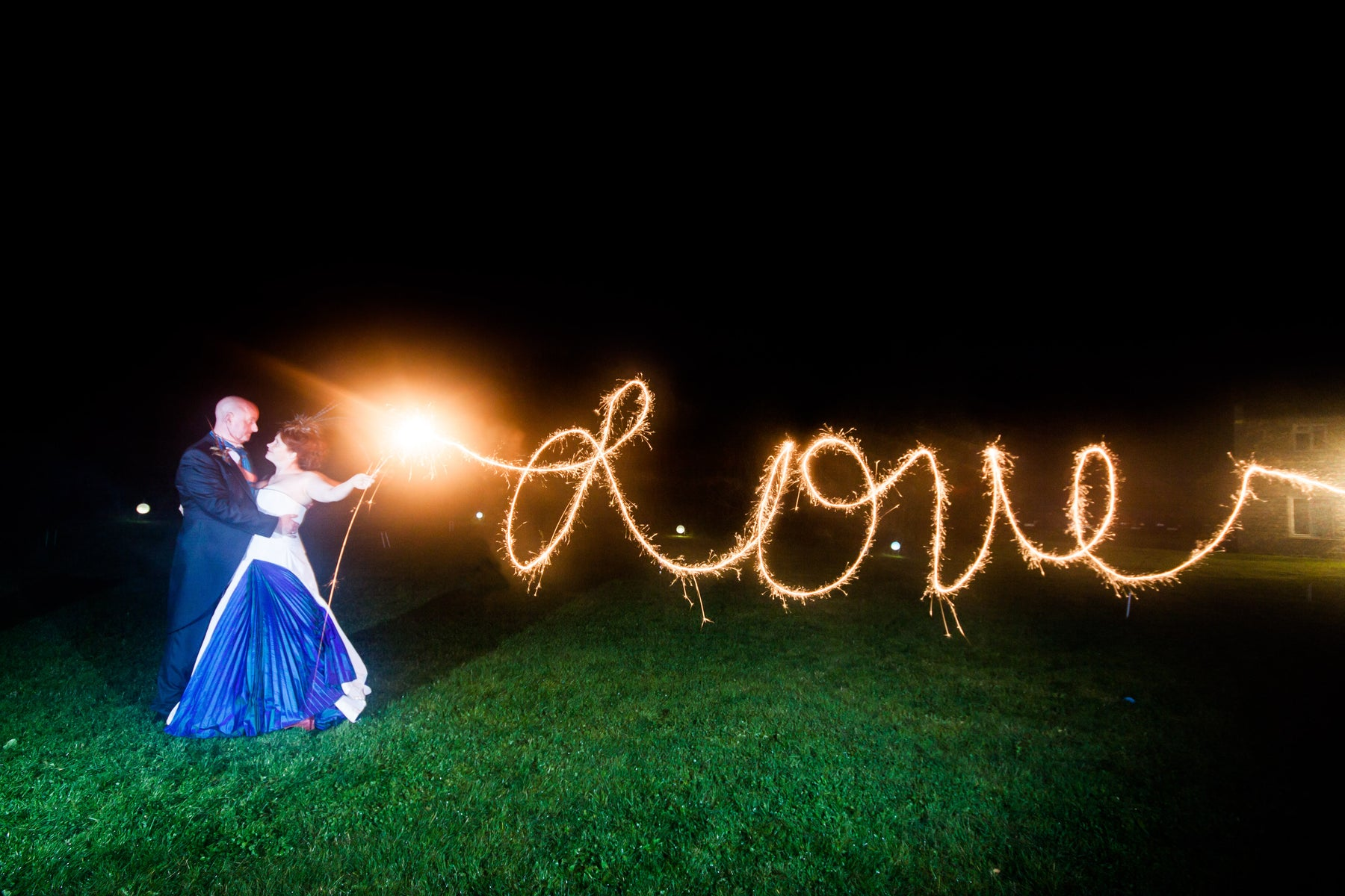 Wedding Fireworks - Add colour to your special day