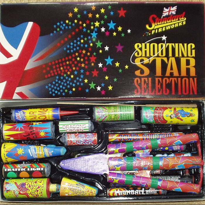 Standard Fireworks Selection Box Poster - 2005