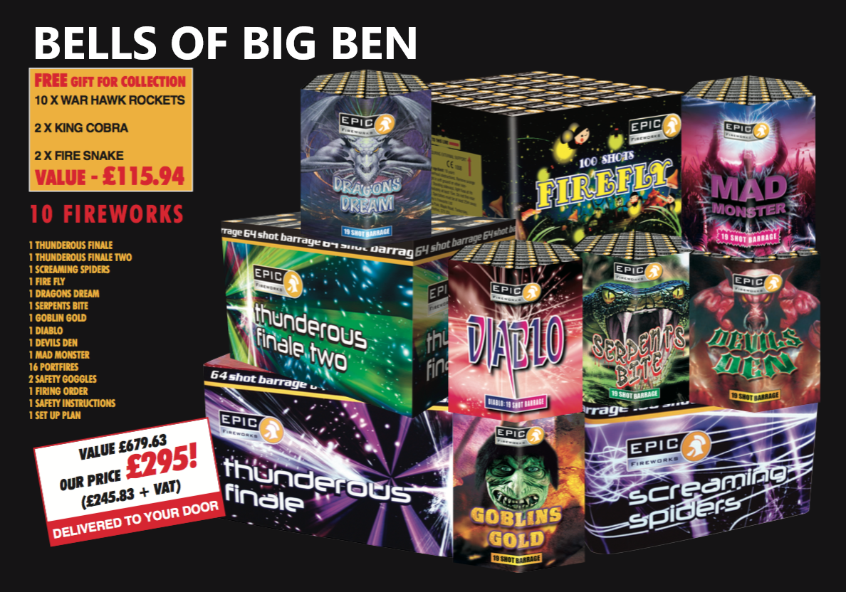 New Years Eve Packs - The Bells of Big Ben