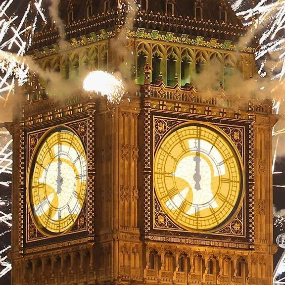 BIG BEN NEW YEAR AND CHRISTMAS CELEBRATIONS