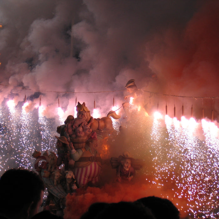 Las Fallas - Biggest Festival in Valencia