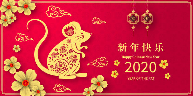 CHINESE NEW YEAR 2020 – YEAR OF THE METAL RAT