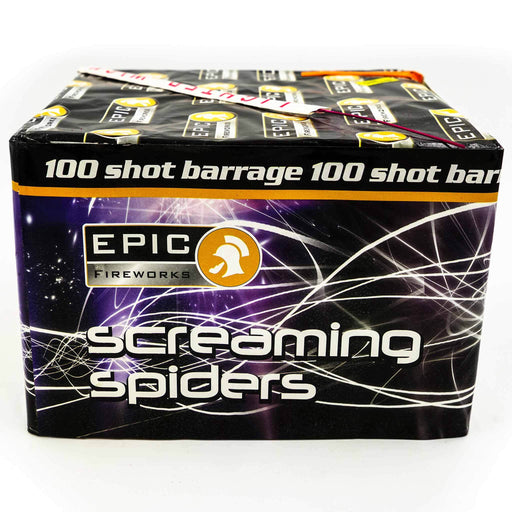 Screaming-Spiders-100-Shot-Finale-Barrage