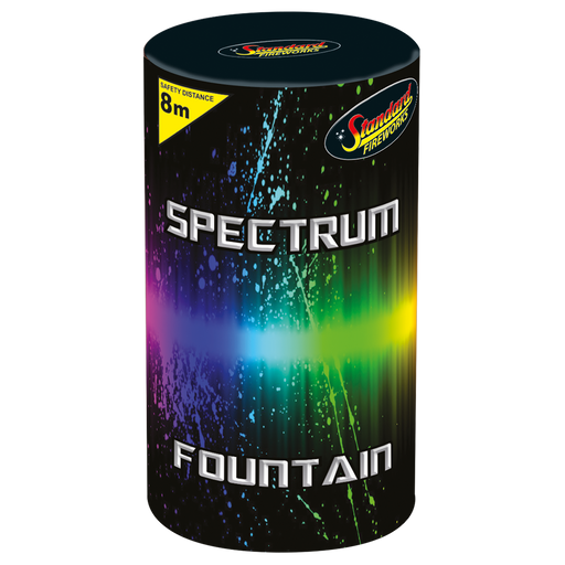 Spectrum Fountain by Standard Fireworks