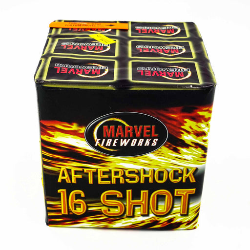 Aftershock Barrage by Marvel Fireworks