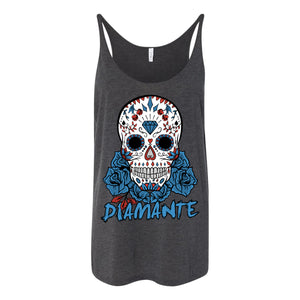 Sugar Skull Ladies Tank