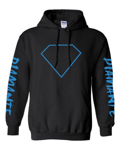 Diamante Blue Diamond Pullover