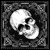Diamante Skull Wrap Bandana