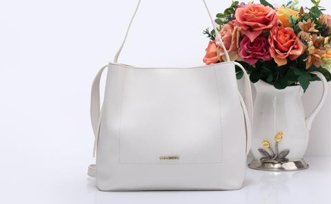 Handbag-005 Women Ladies Fashion Stylish Shoulderbag Handbag White