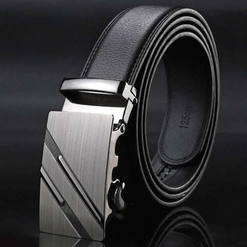 Men Fashion Luxury Belts Men Fashion Leather Belt Wast Belts Jeans Belts Automatic Buckles Belts