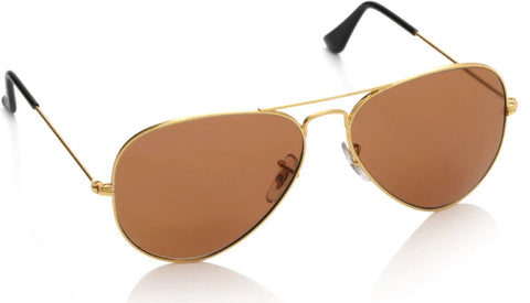 Sunglass-Brown-001 Unisex Aviator (Brown colour)
