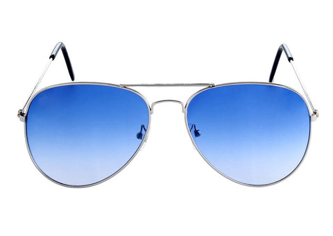 Sunglass-Blue-001 Unisex Aviator(Blue Colour)