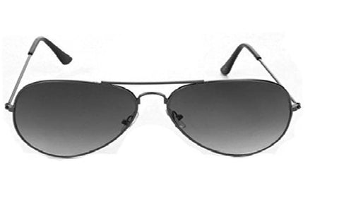 Sunglass-Black-002 Unisex Aviator (Black Colour)