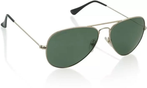 Sunglass-Green-001 Unisex Aviator (Green Colour)