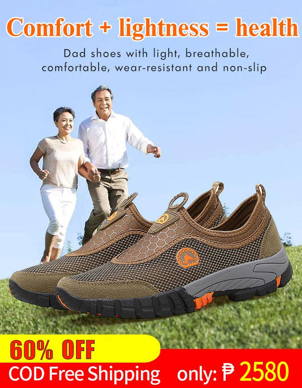 Ourdoor Breathable Hiking Shoes【Comfort + Lightness = Health】
