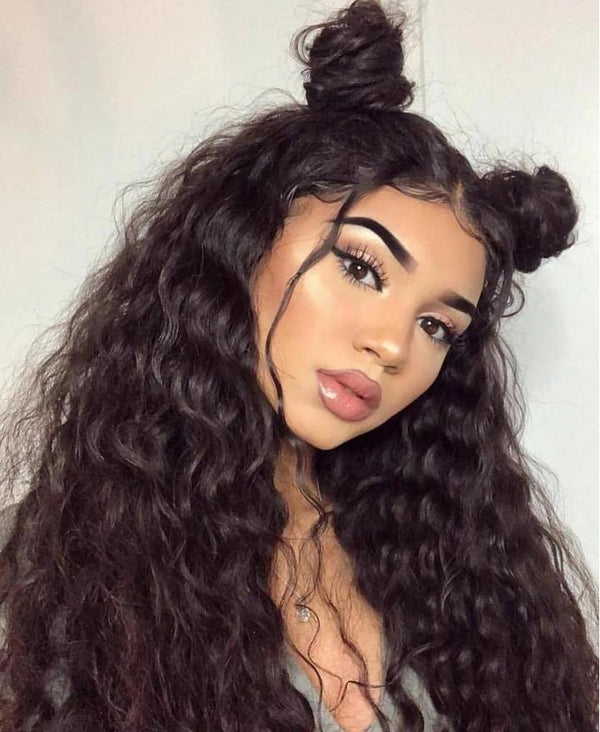 200% Density Virgin Hair 360 Lace Frontal Wig