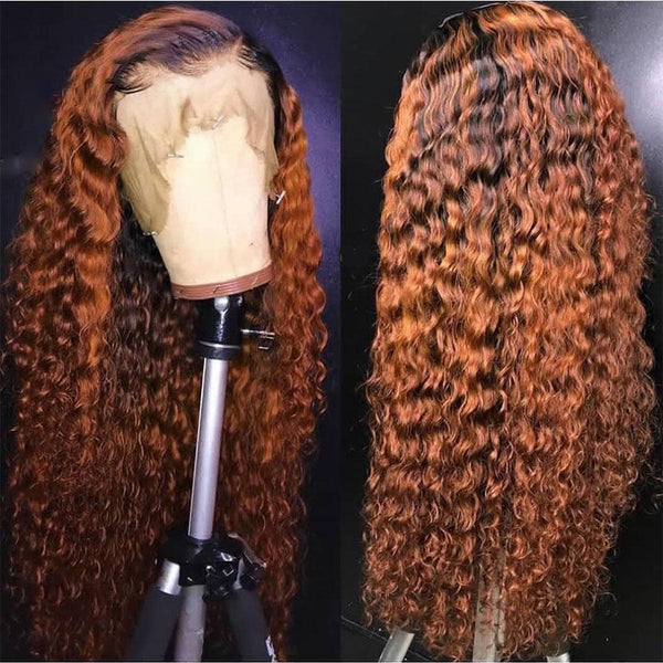Water Wave 360 Lace Frontal Wig Pre Plucked With Baby Hair Brazilian Remy Lace Front Curly Human Hair Wigs
