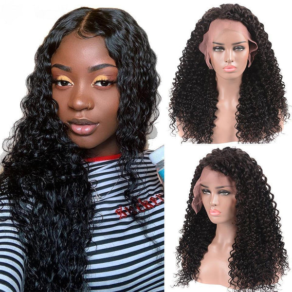 360 Lace Frontal Wig Pre Plucked With Baby Hair Wave Lace Front Human Hair Wigs