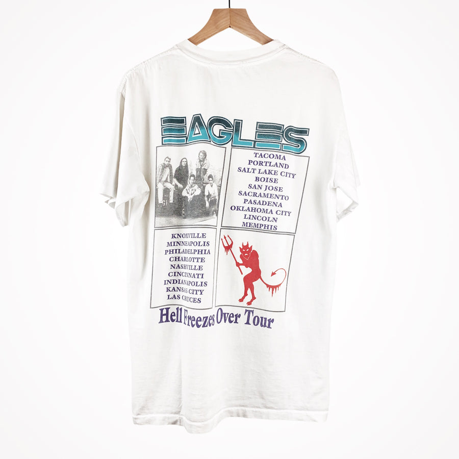 1995 The Eagles Hell Freezes Over Skull Tour T-Shirt