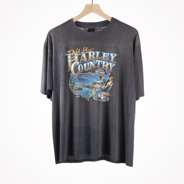 1983 Harley 3D Emblem This is Harley Country T-Shirt