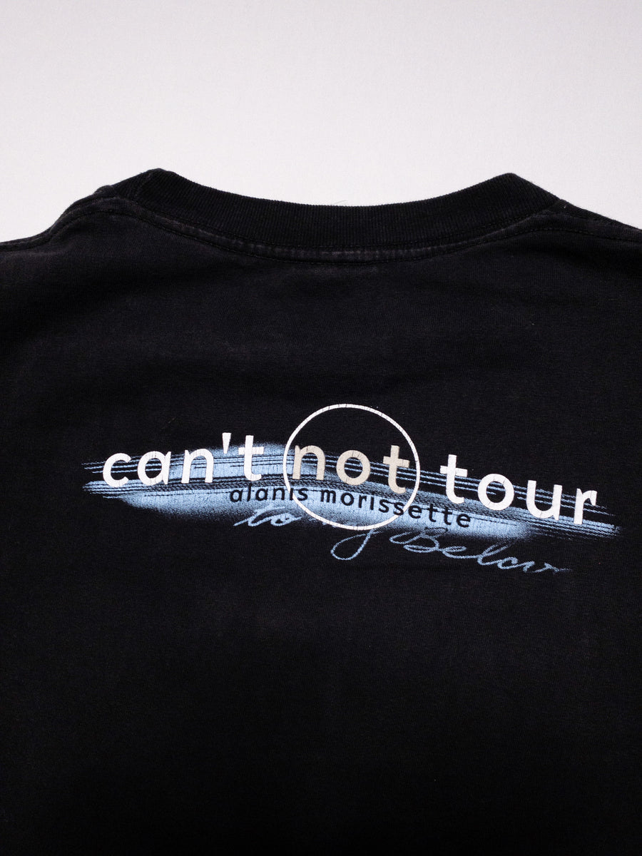 1996 Alanis Morissette Swallow It Down Tour Vintage T-Shirt