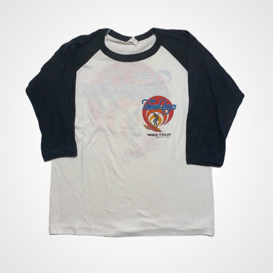 Vintage Beach Boys 1983 Tour Raglan T-Shirt