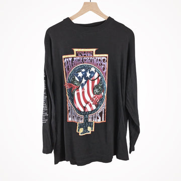 1995 Black Crowes Amorica or Bust Tour Longsleeve Vintage T-Shirt