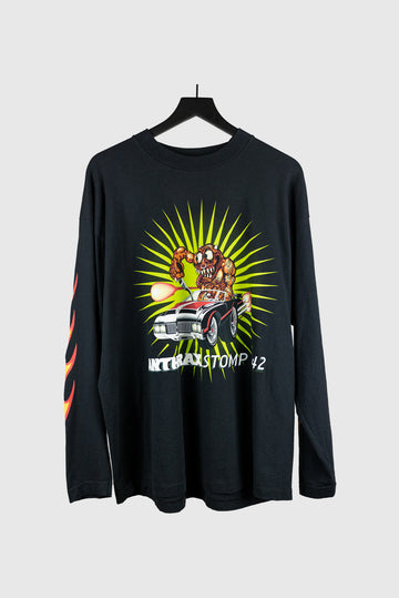 1995 Anthrax Stomp 442 L/S Tee
