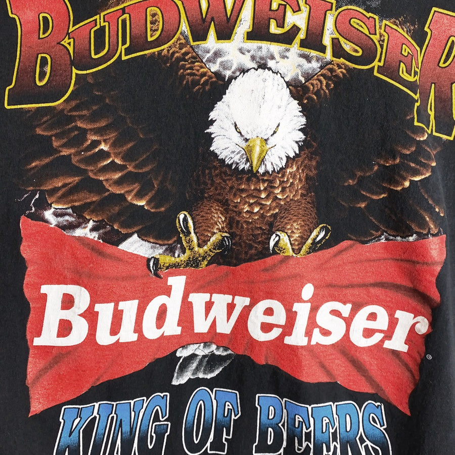 Vintage 1993 Budweiser King of Beers Soaring Eagle Single Stitch Promo T-Shirt