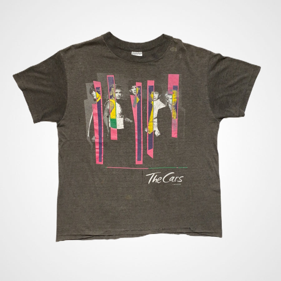 Vintage 1987 The Cars Pink Bars Promo Photo T-Shirt