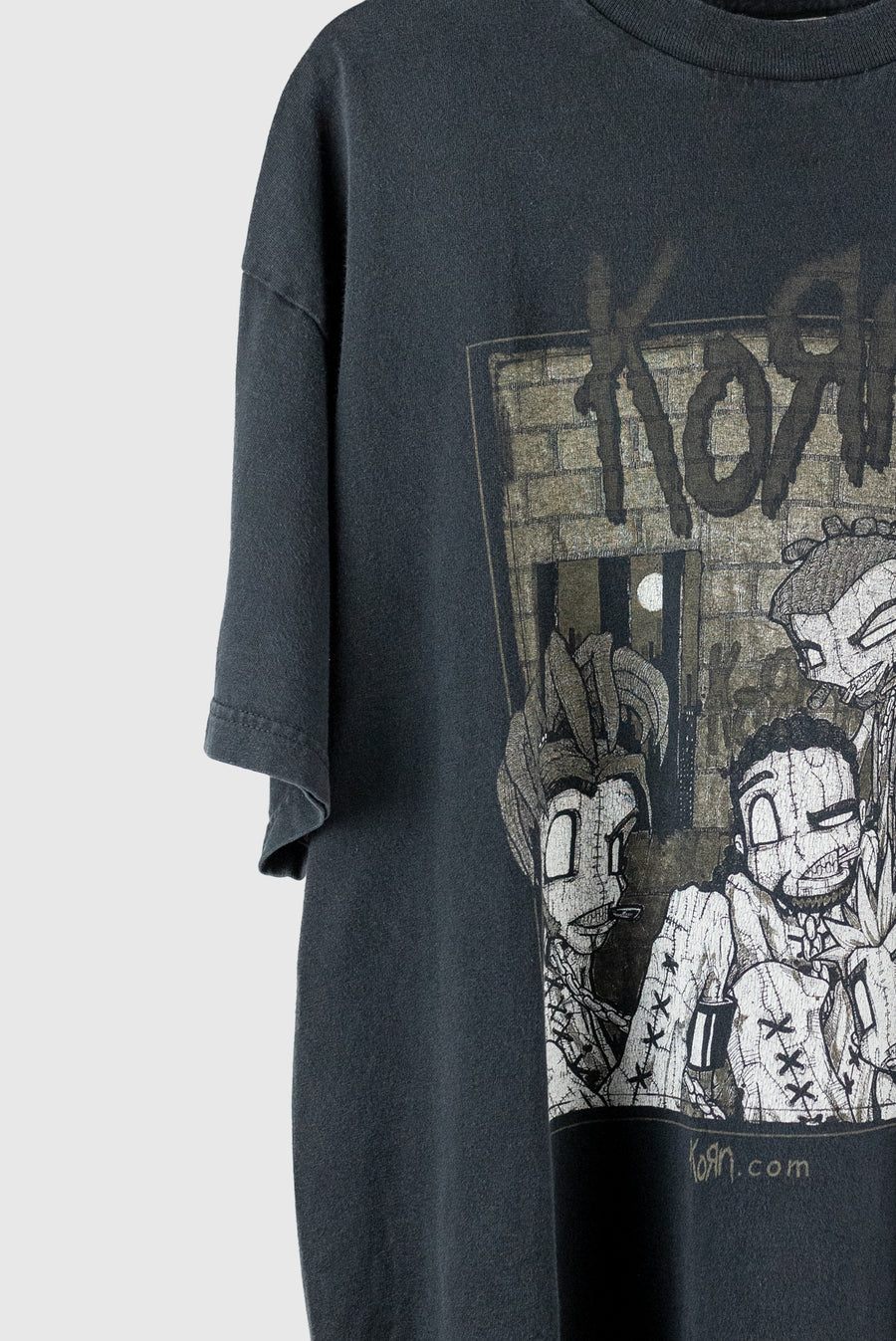 2000 Korn Sick and Twisted Tour Tee