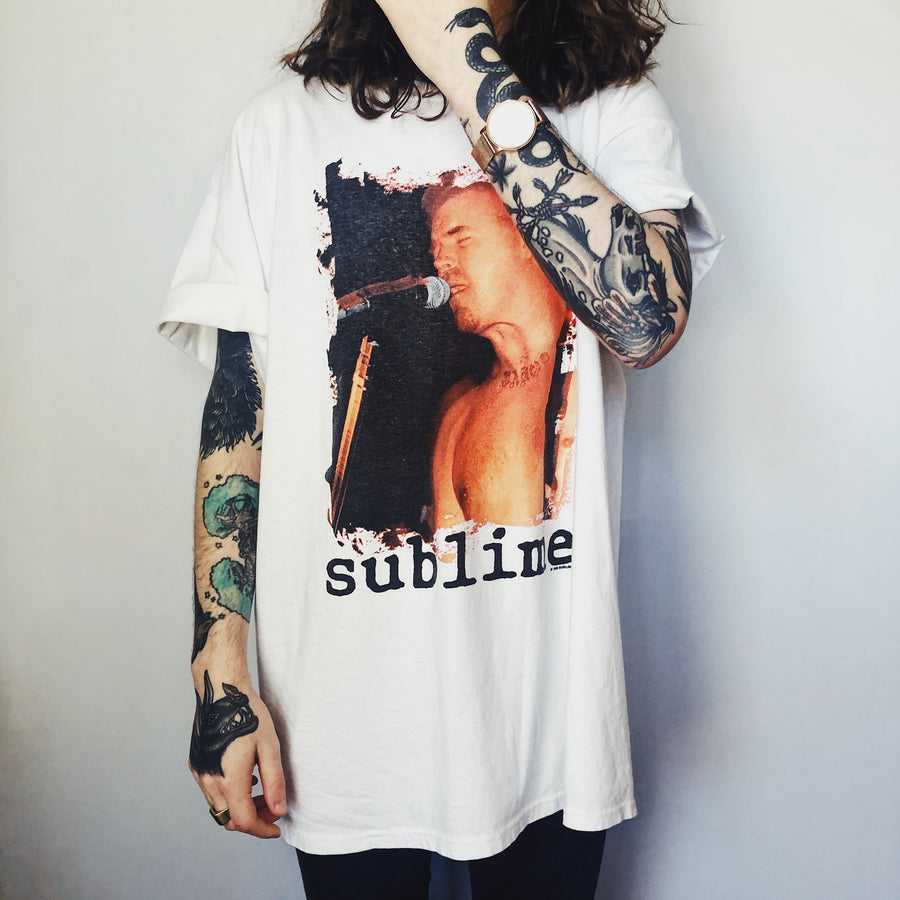 1998 Sublime Live Photo T-Shirt