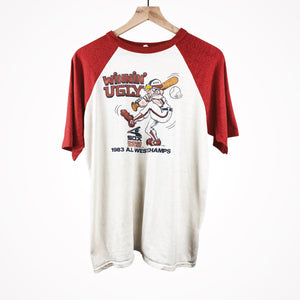 1983 Chicago White Sox ALCS Champions Winning Ugly Vintage Baseball T-Shirt